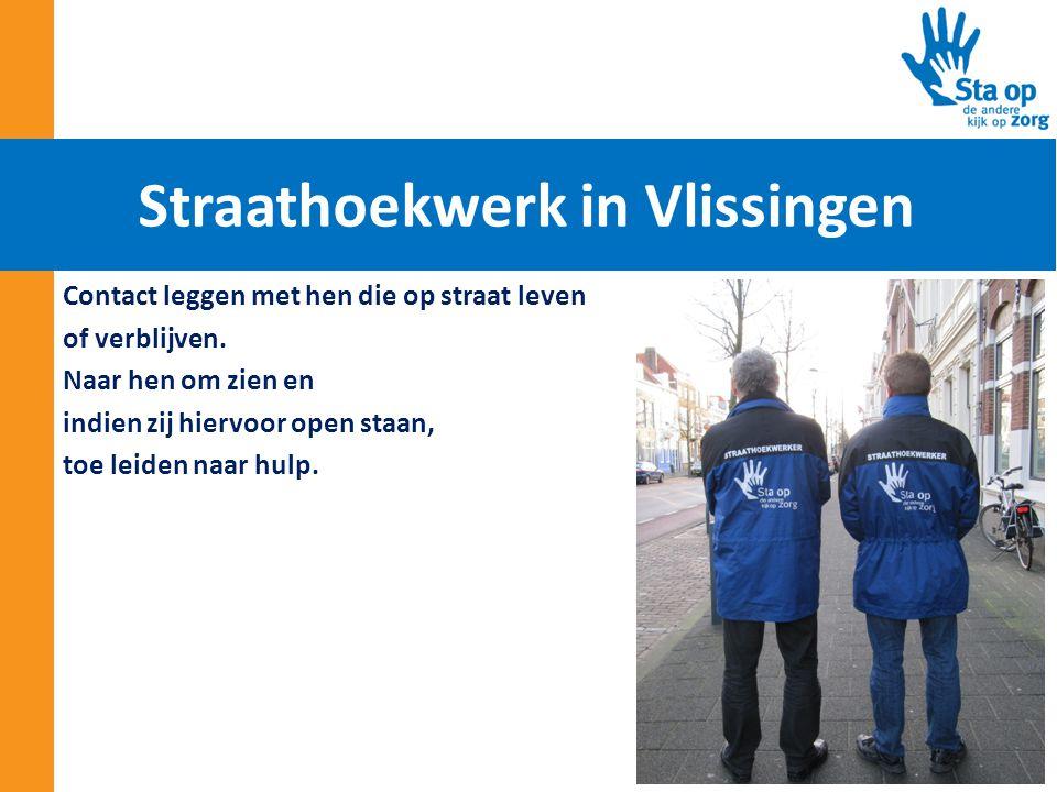 Straathoekwerk in Vlissingen