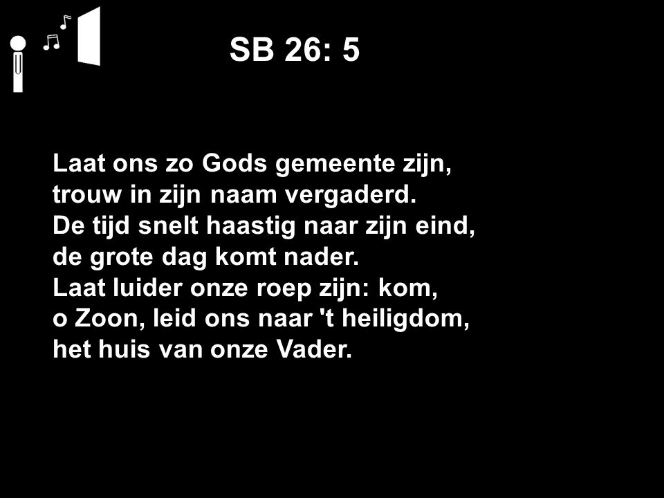 SB 26: 5