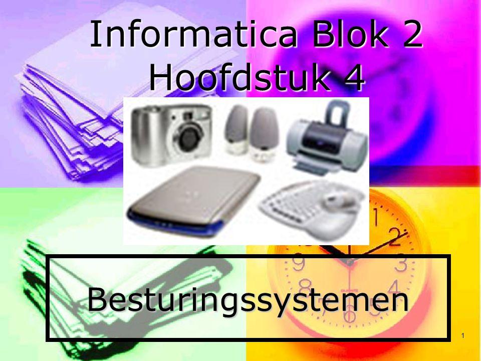 Informatica Blok 2 Hoofdstuk 4