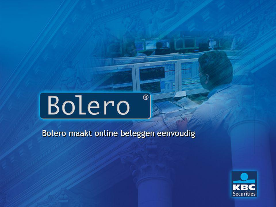 Bolero maakt online beleggen eenvoudig
