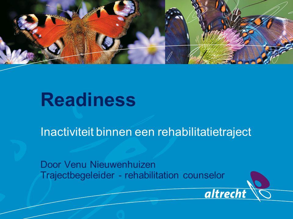 Readiness Inactiviteit binnen een rehabilitatietraject