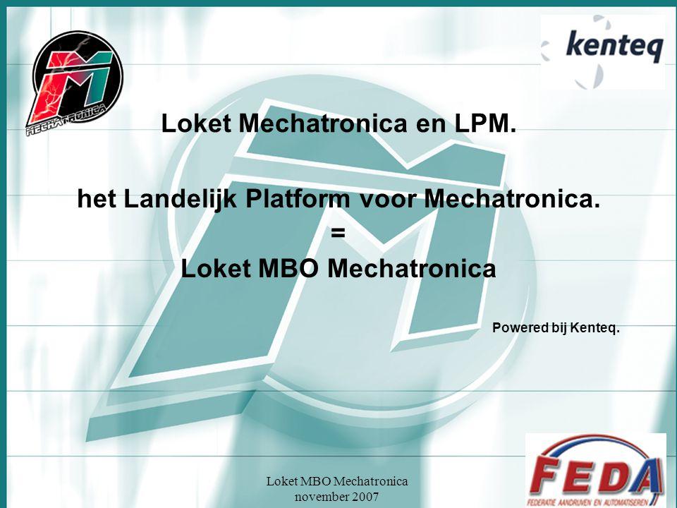 Loket Mechatronica en LPM.