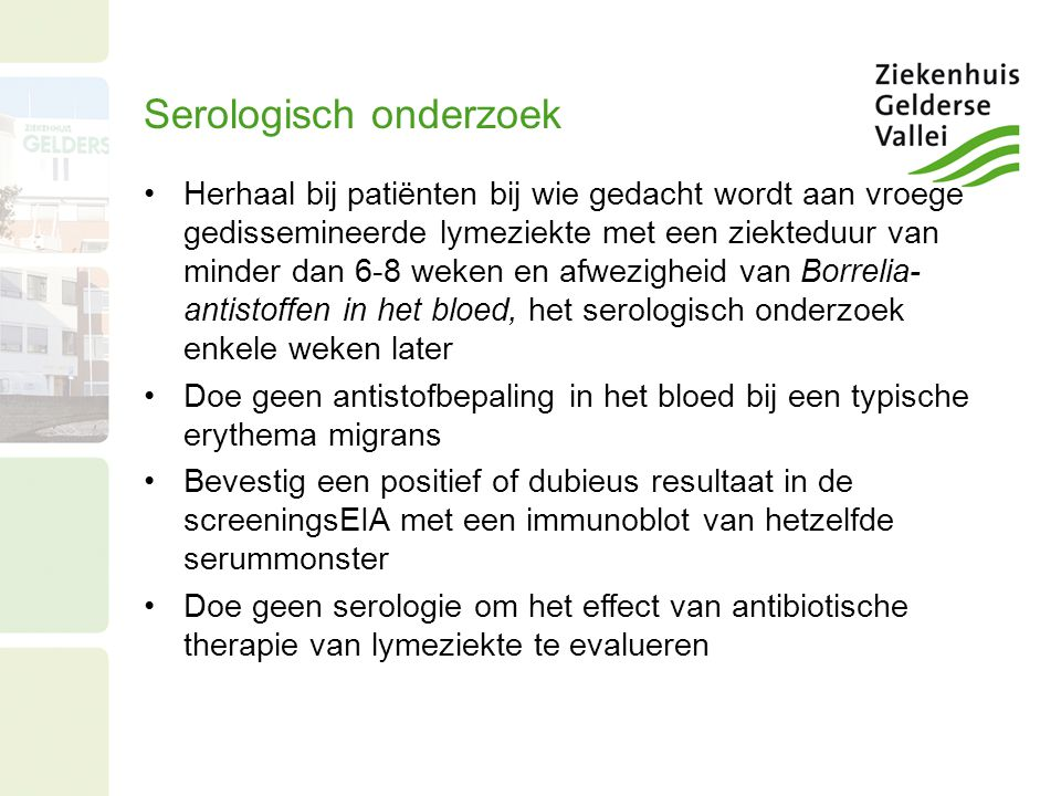 Serologisch onderzoek