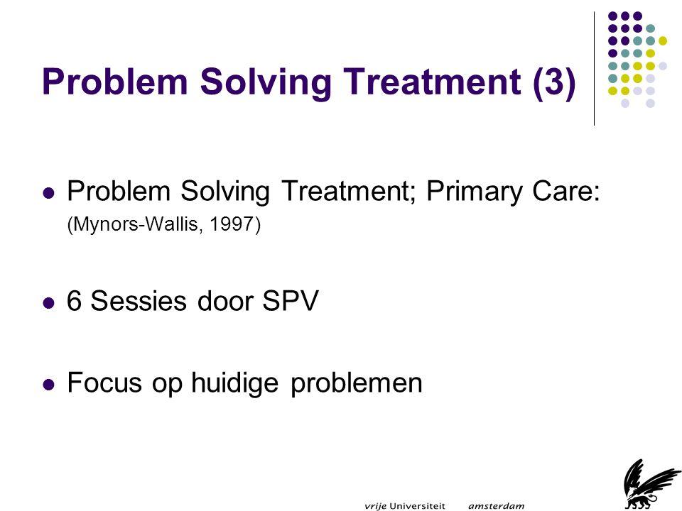 Problem Solving Treatment (3)