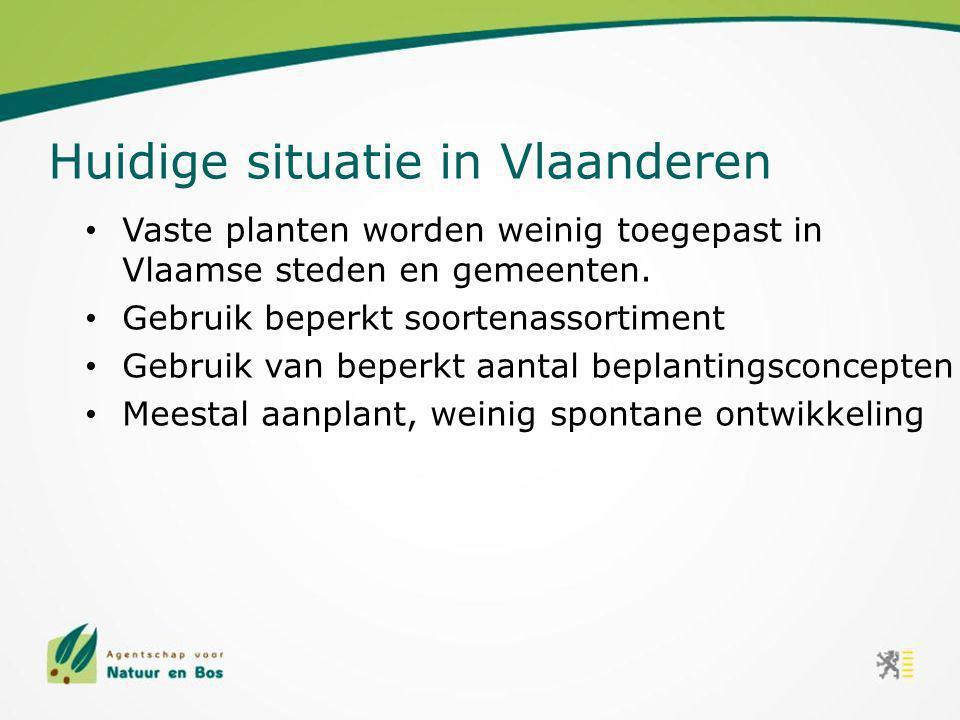 Huidige situatie in Vlaanderen