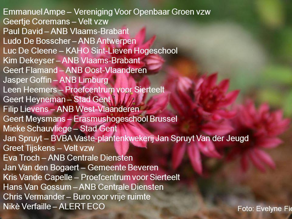 Emmanuel Ampe – Vereniging Voor Openbaar Groen vzw