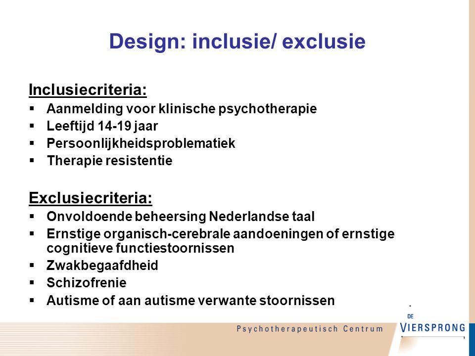 Design: inclusie/ exclusie