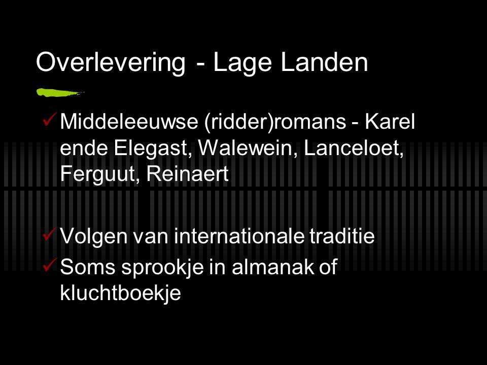 Overlevering - Lage Landen