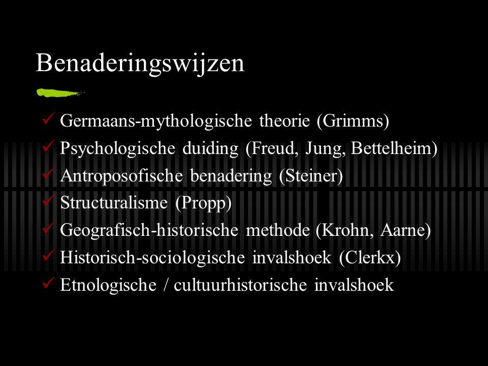 Benaderingswijzen Germaans-mythologische theorie (Grimms)