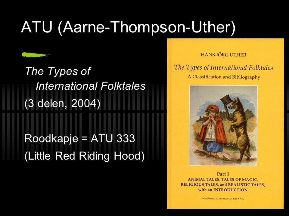 ATU (Aarne-Thompson-Uther)