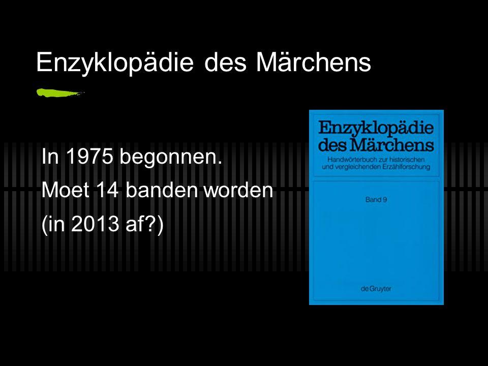 Enzyklopädie des Märchens