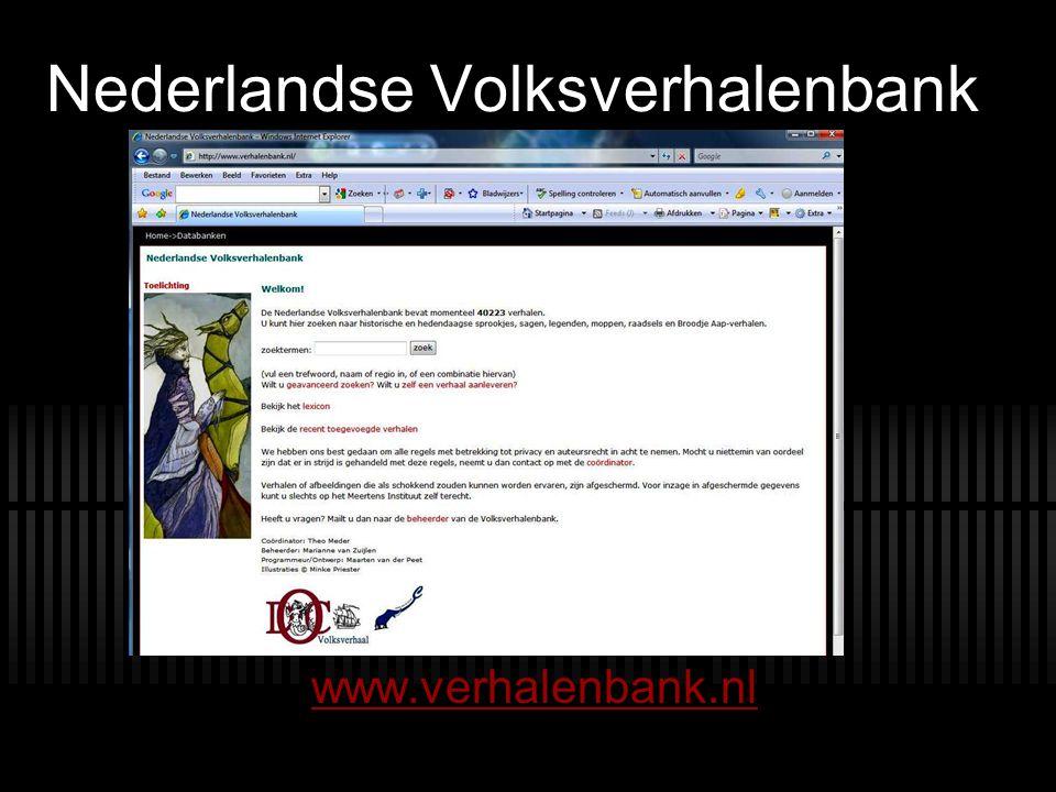 Nederlandse Volksverhalenbank