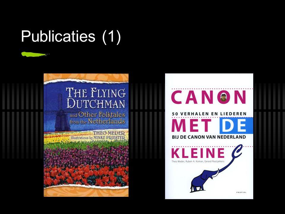 Publicaties (1)