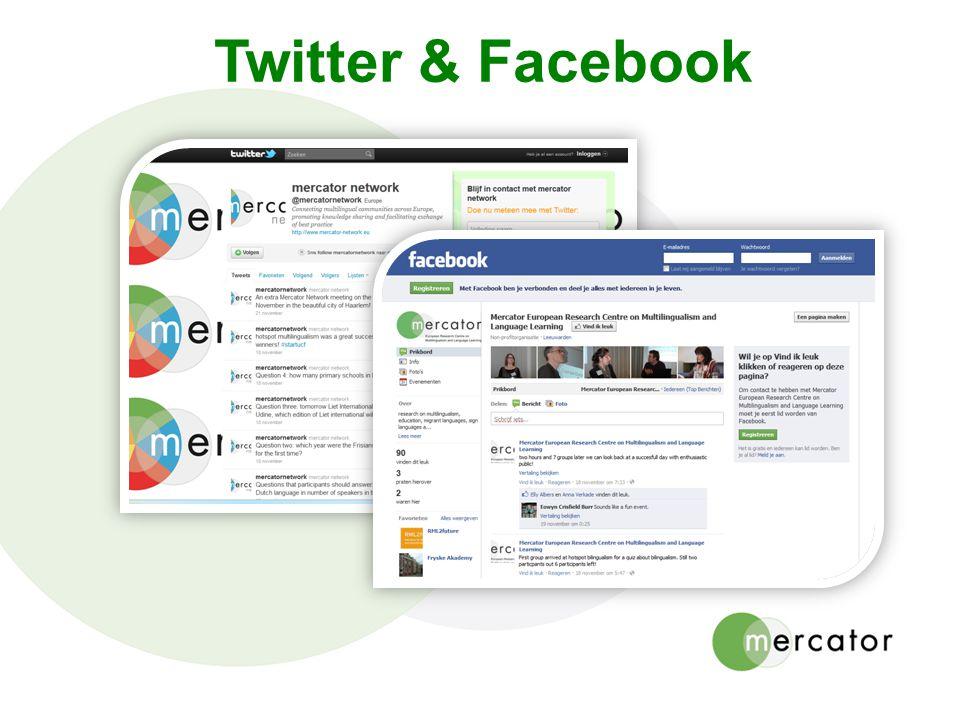 Twitter & Facebook 22