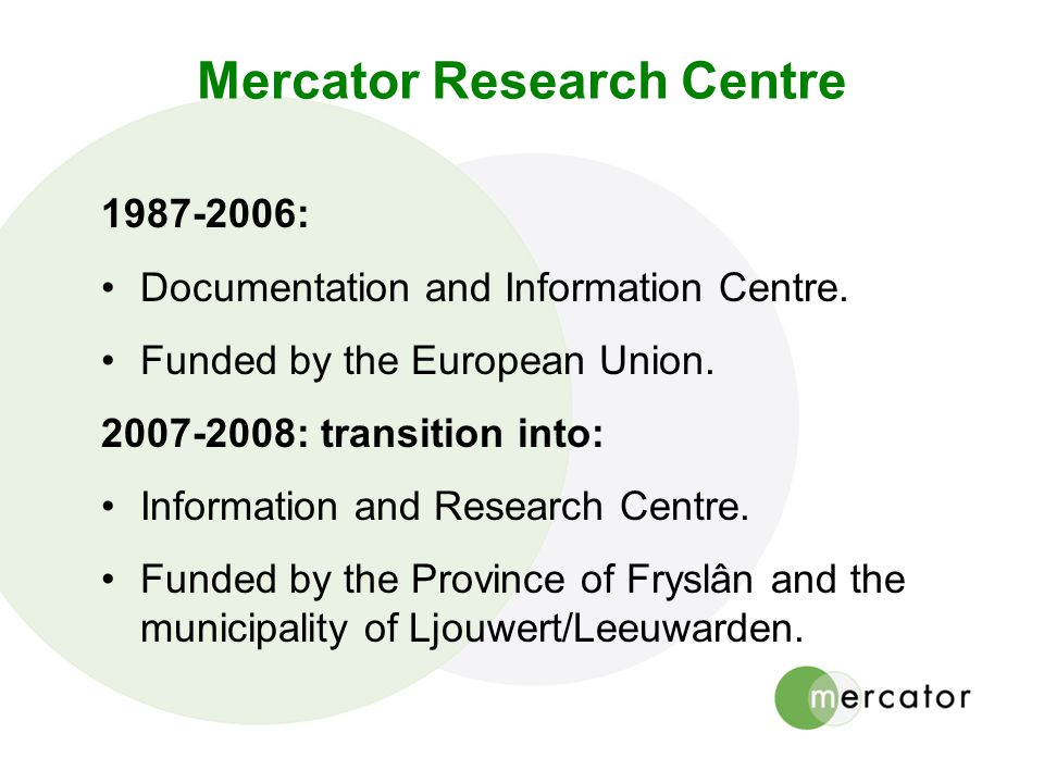 Mercator Research Centre
