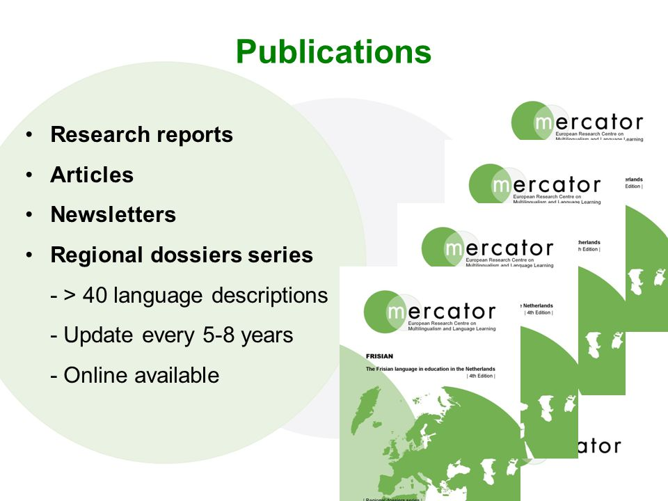 Publications Research reports Articles Newsletters