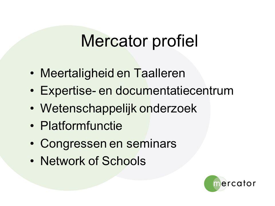 Mercator profiel Meertaligheid en Taalleren