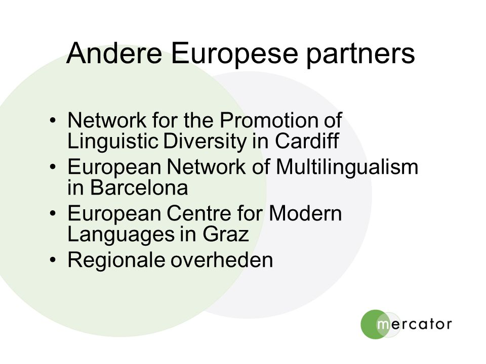 Andere Europese partners