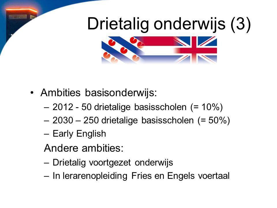 Drietalig onderwijs (3)