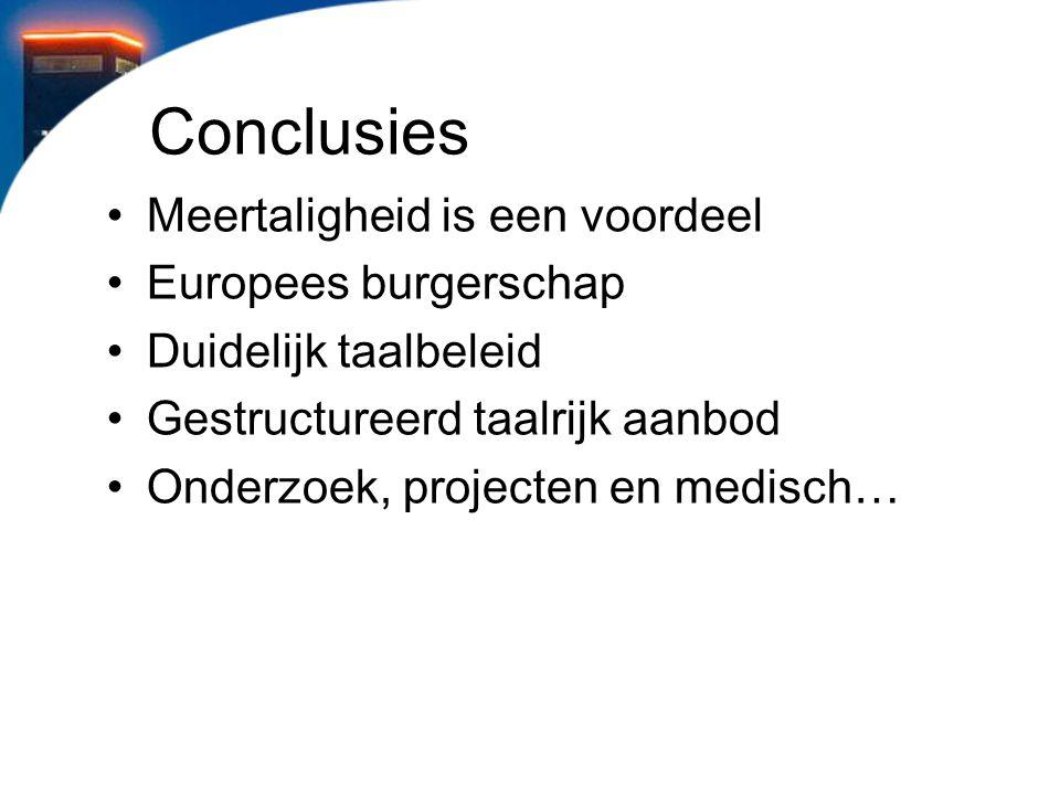 Conclusies Meertaligheid is een voordeel Europees burgerschap