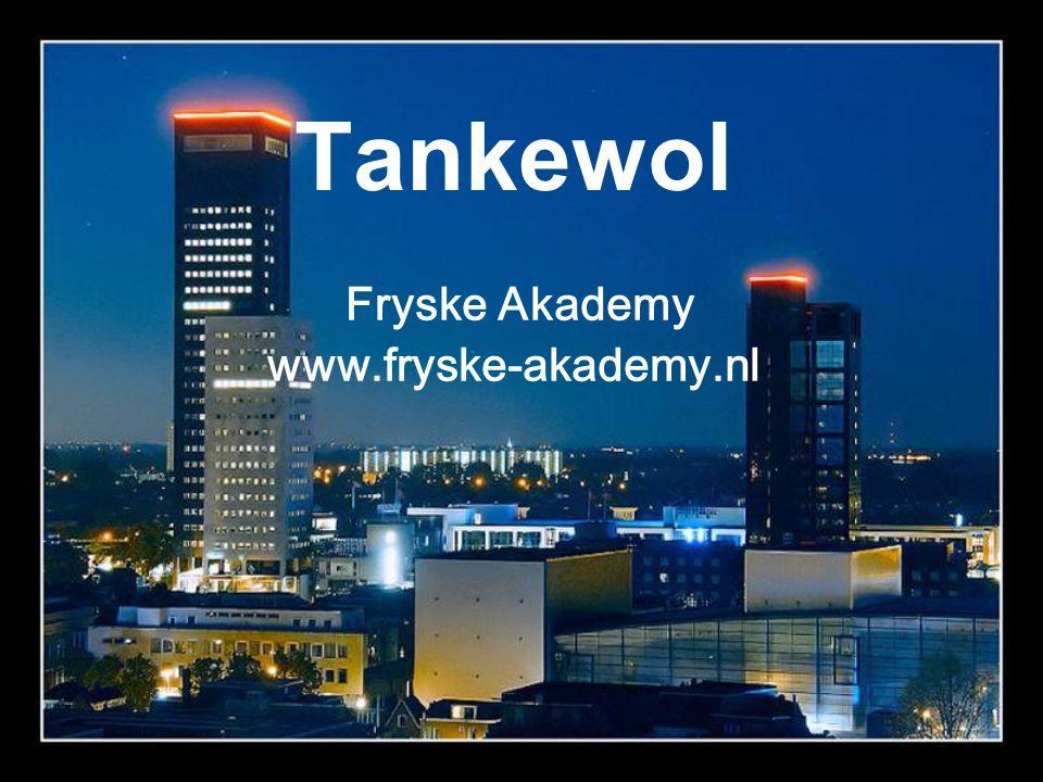 Fryske Akademy www.fryske-akademy.nl