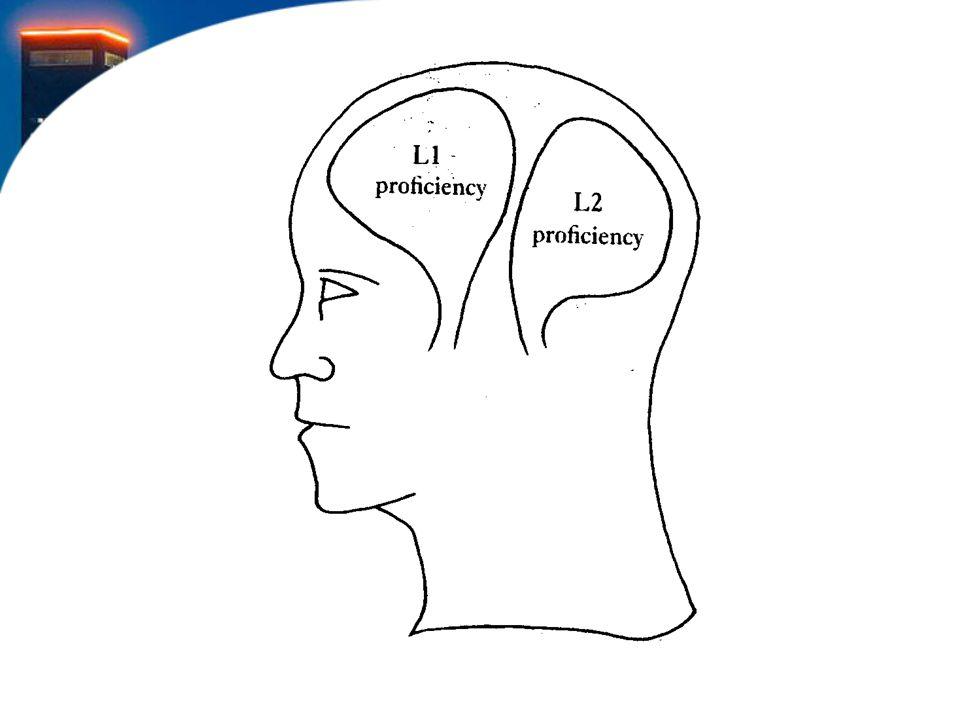 De 'oude' theorie, tot in de jaren 50, was gebaseerd op de gedachte dat meertaligheid niet goed kón zijn voor de ontwikkeling van het kind. Immers de talen zaten elkaar in het hoofd van het kind in de weg!