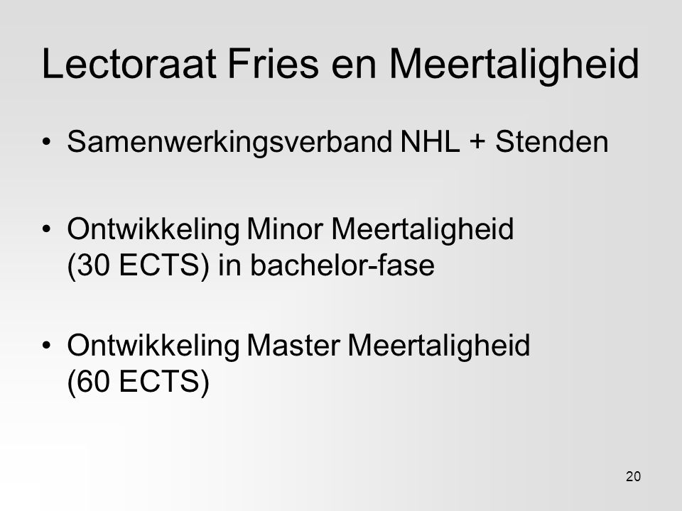Lectoraat Fries en Meertaligheid