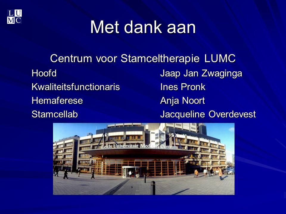 Centrum voor Stamceltherapie LUMC