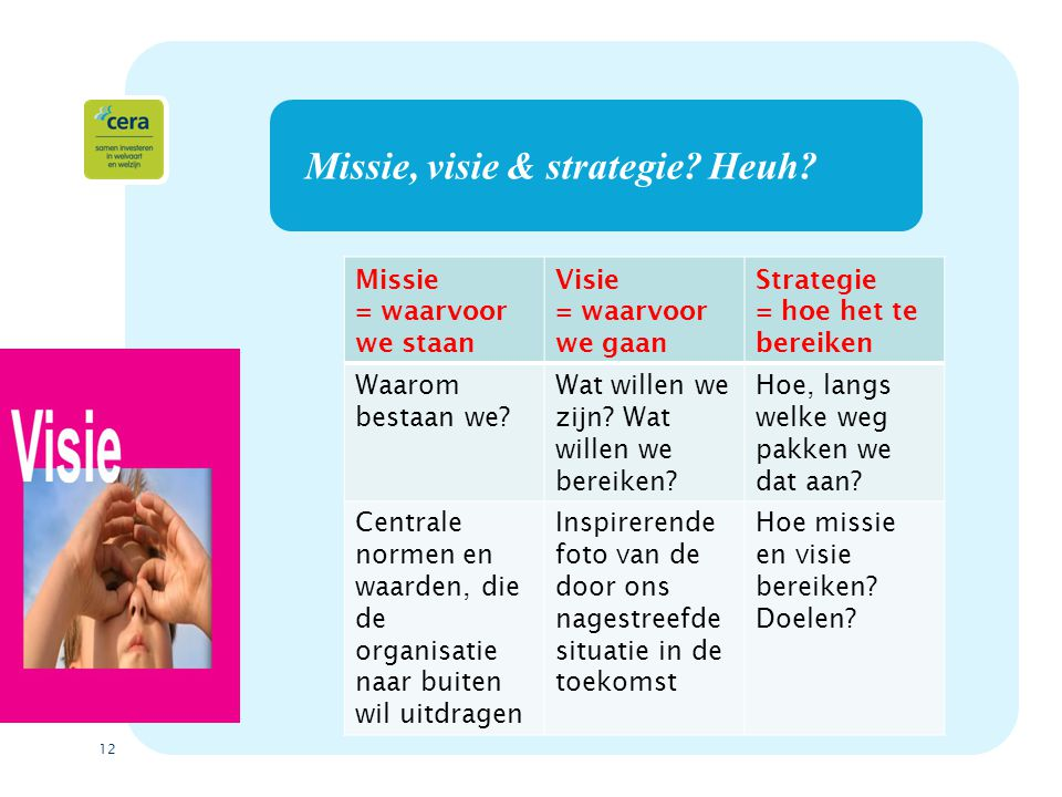 Missie, visie & strategie Heuh