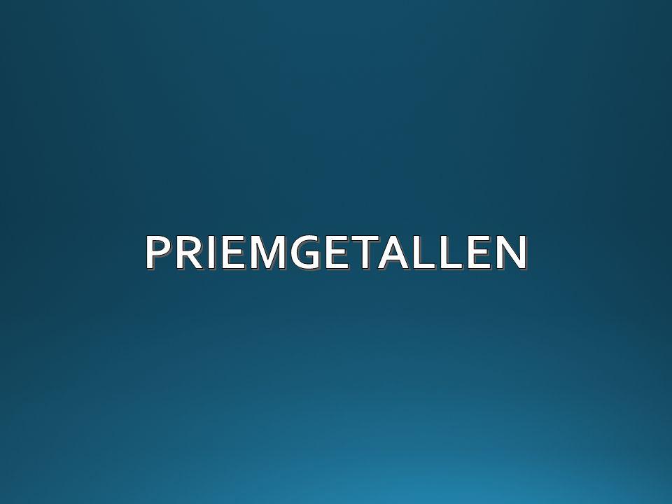 PRIEMGETALLEN