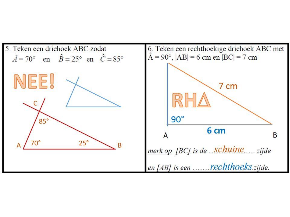 NEE! RH 6 cm