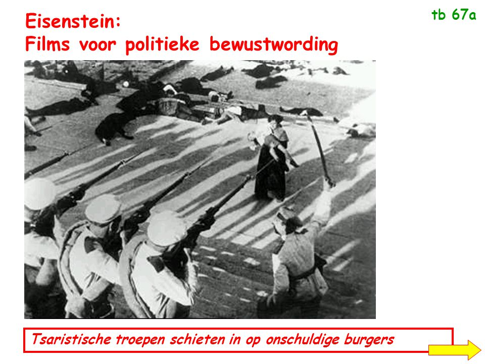 Eisenstein: Films voor politieke bewustwording