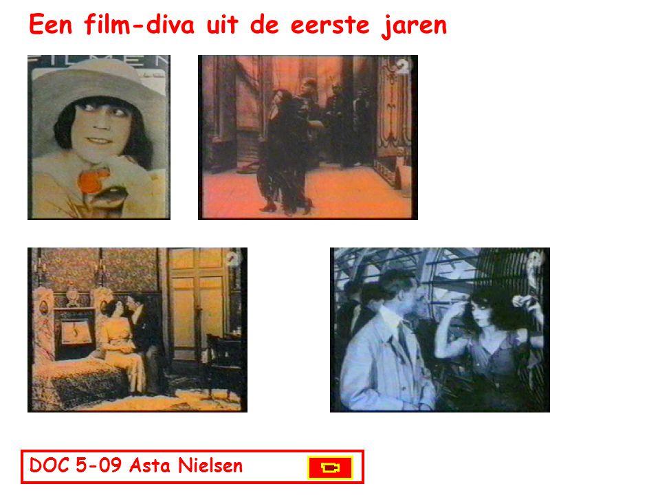 Een film-diva uit de eerste jaren