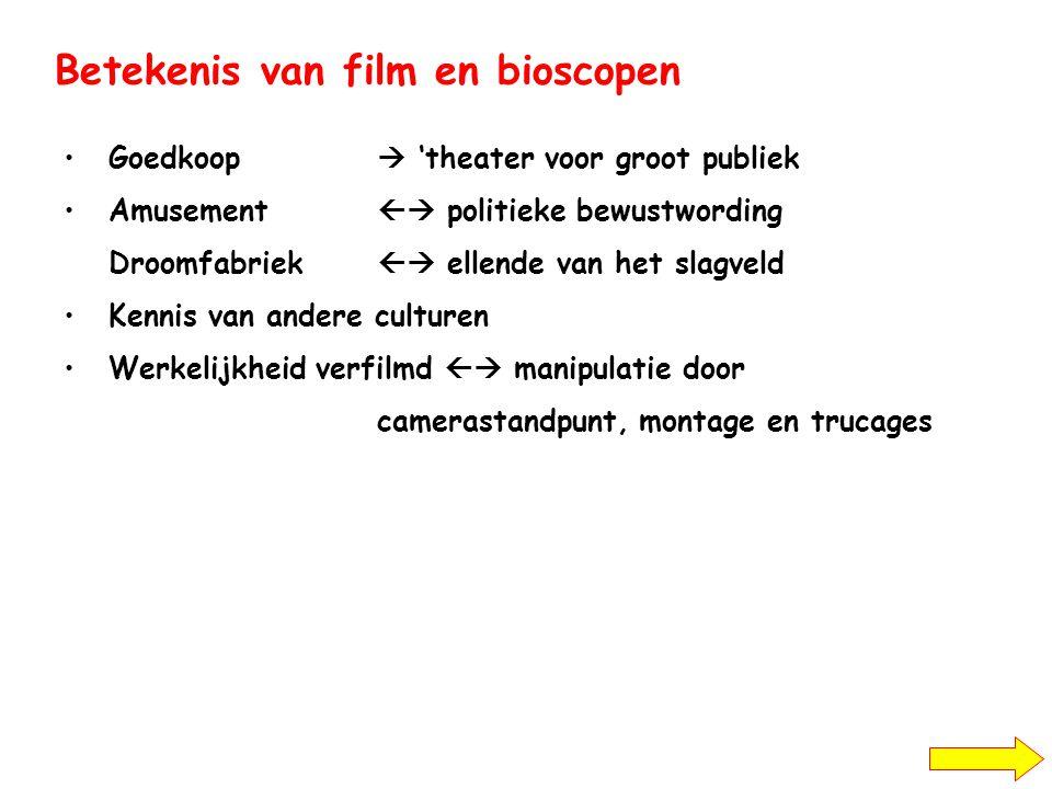 Betekenis van film en bioscopen