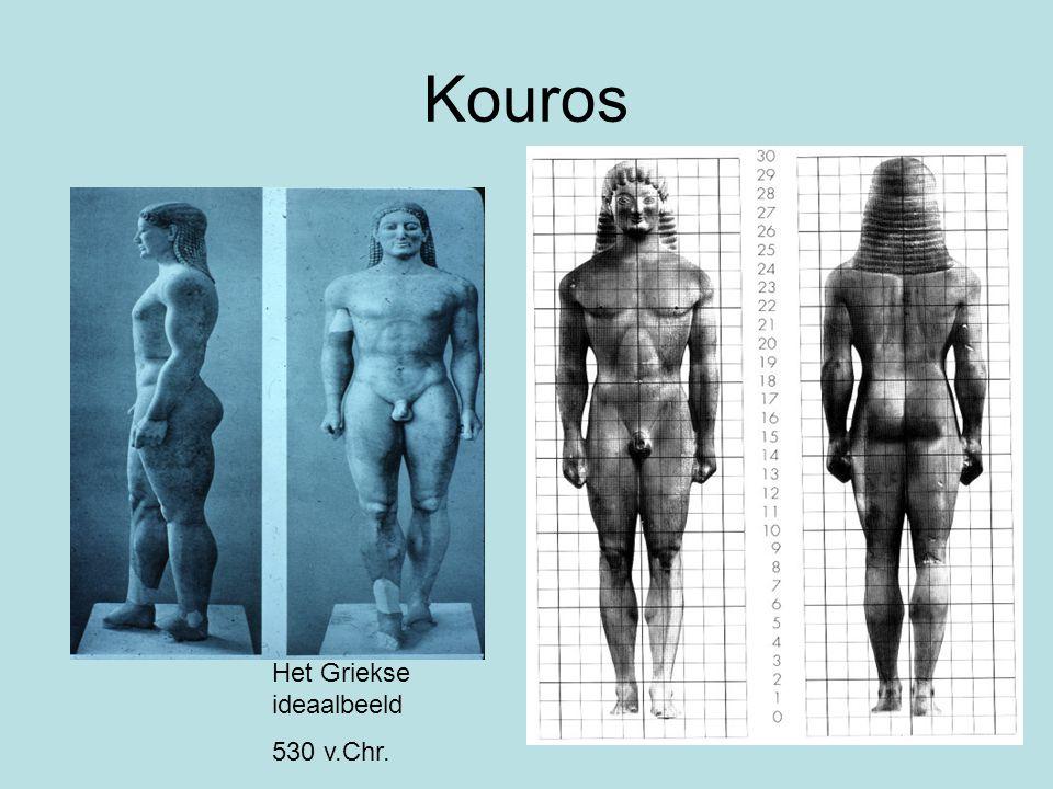 Kouros Het Griekse ideaalbeeld 530 v.Chr.