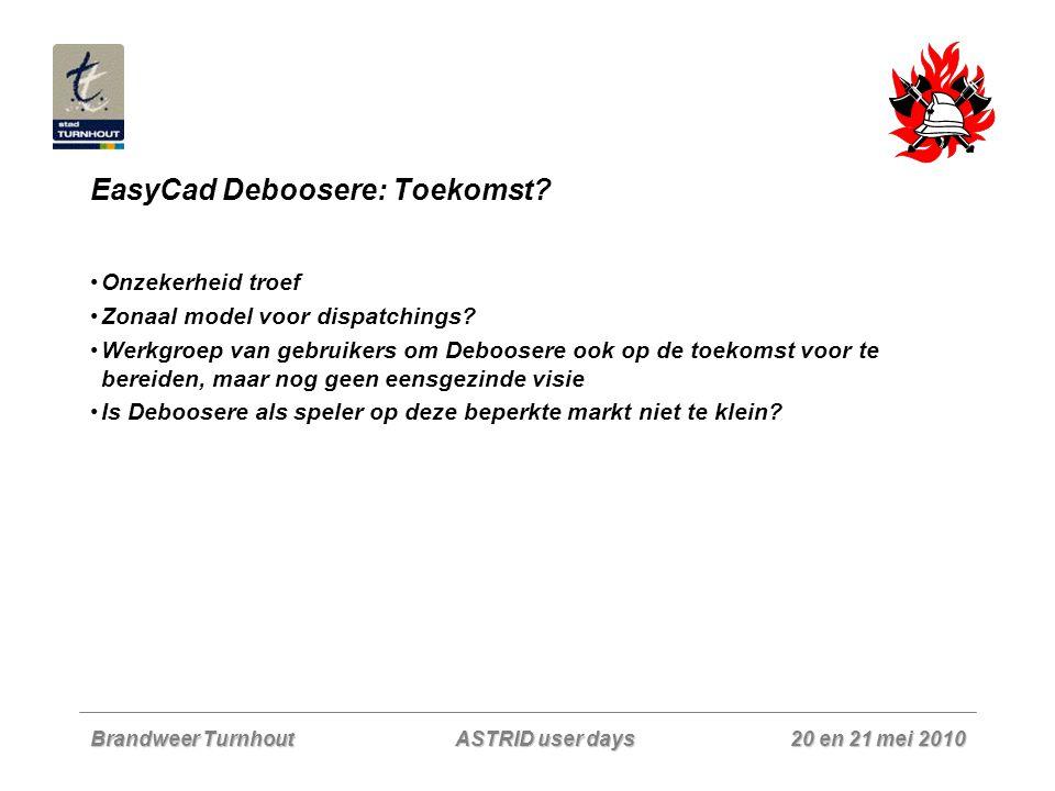 EasyCad Deboosere: Toekomst
