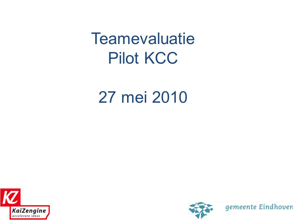 KZ: Platform / Incentives / Rapportage