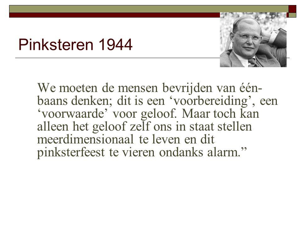 Pinksteren 1944