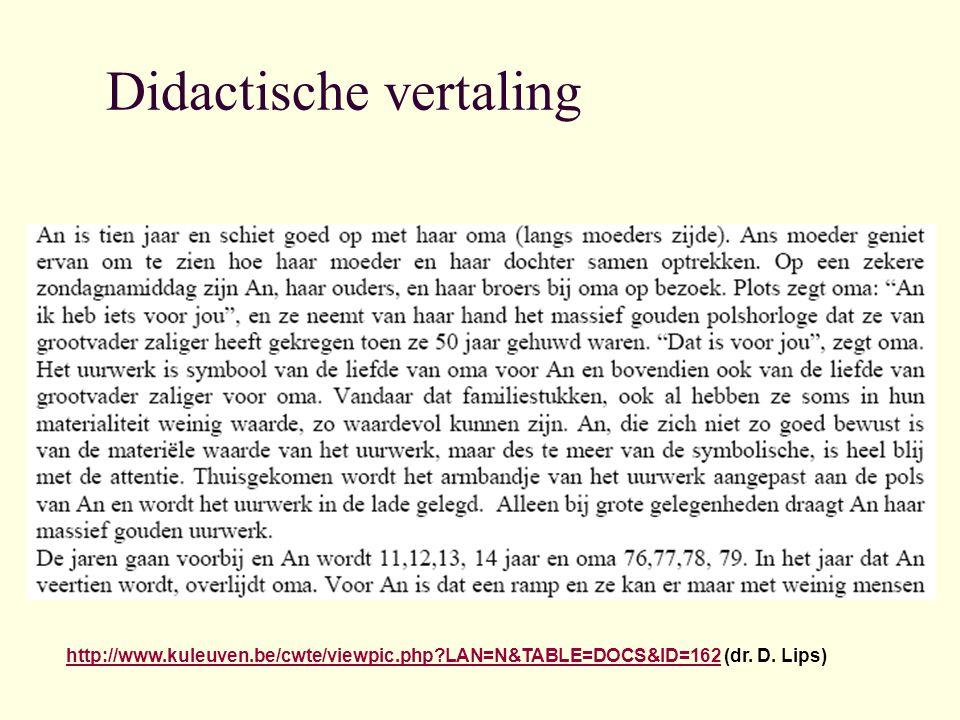 Didactische vertaling