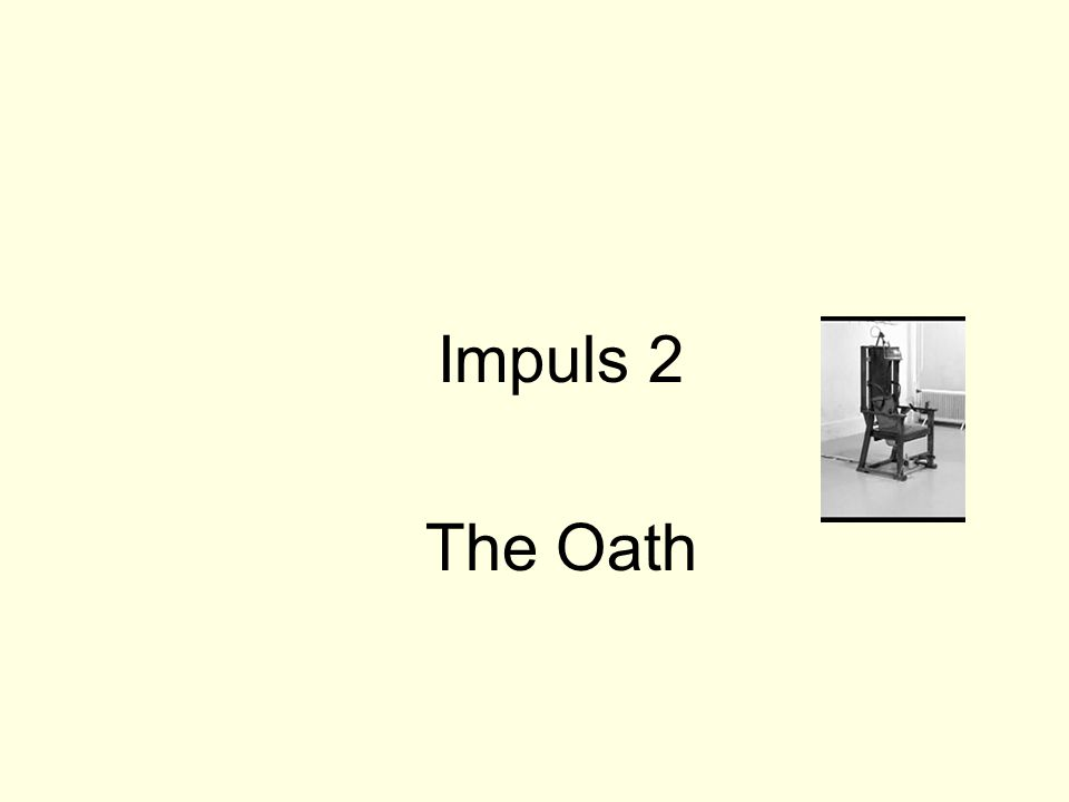 Impuls 2 The Oath