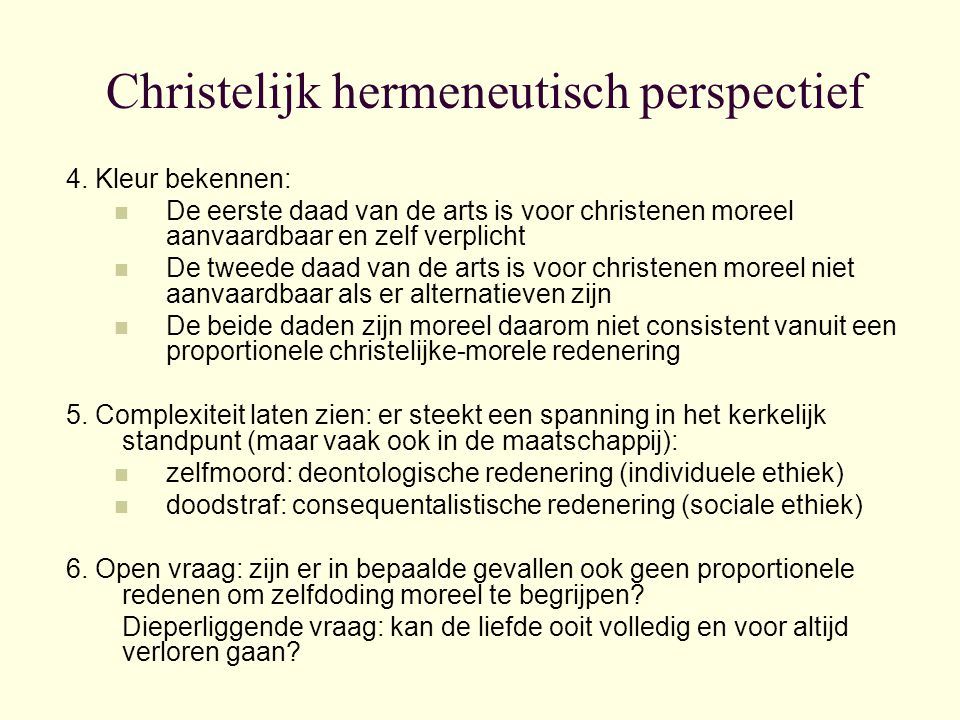 Christelijk hermeneutisch perspectief