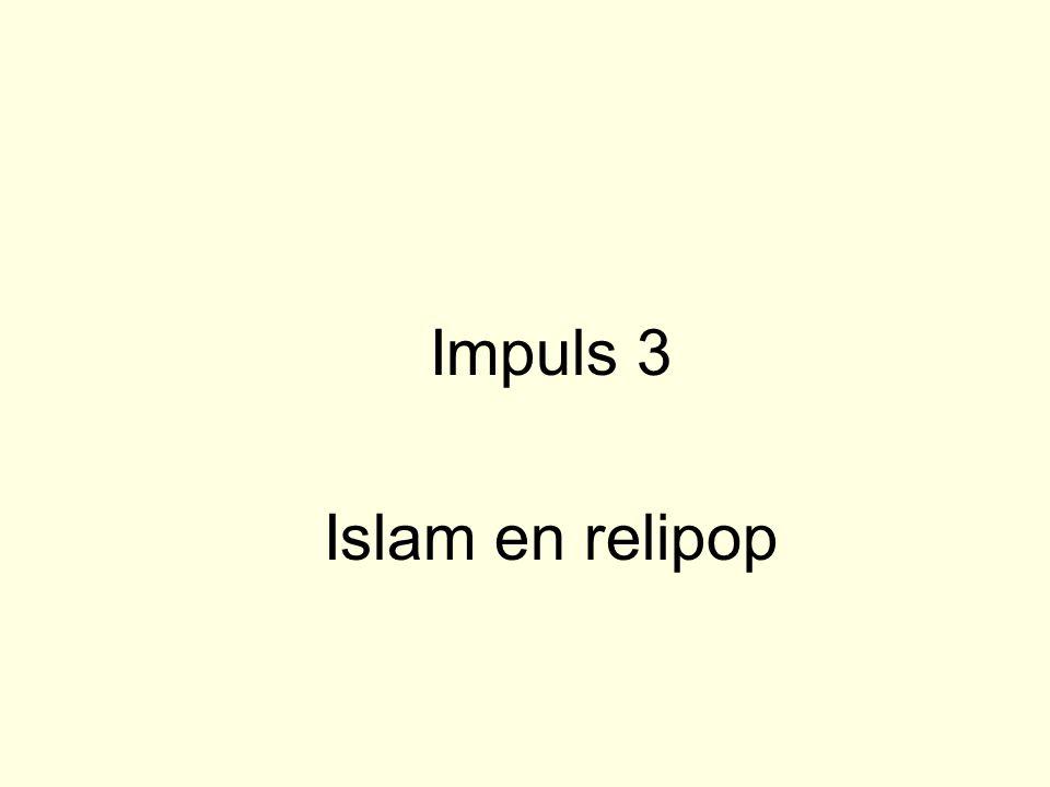 Impuls 3 Islam en relipop