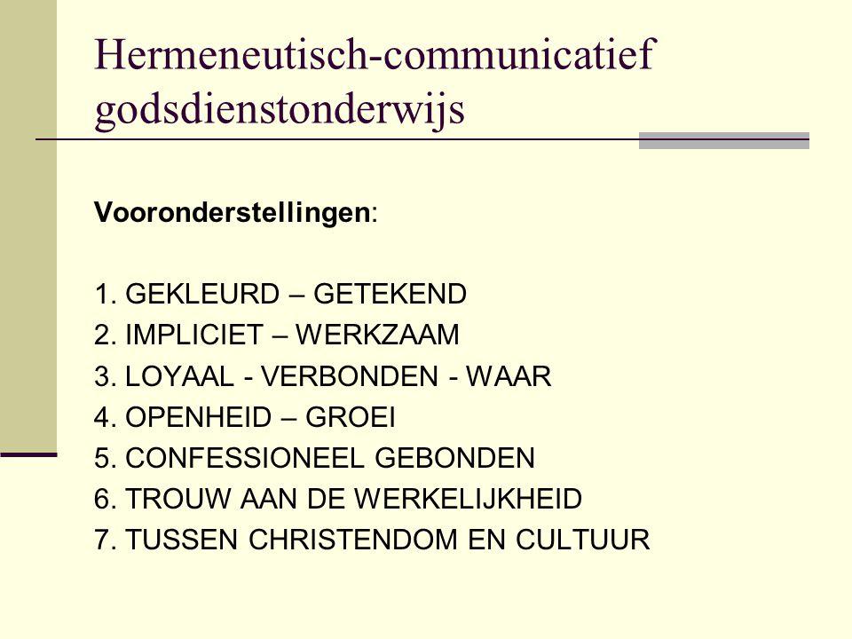 Hermeneutisch-communicatief godsdienstonderwijs