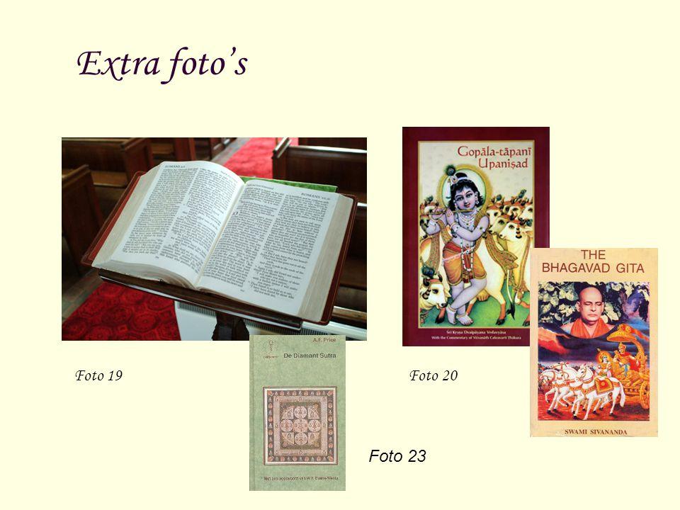 Extra foto's Foto 19 Foto 20.