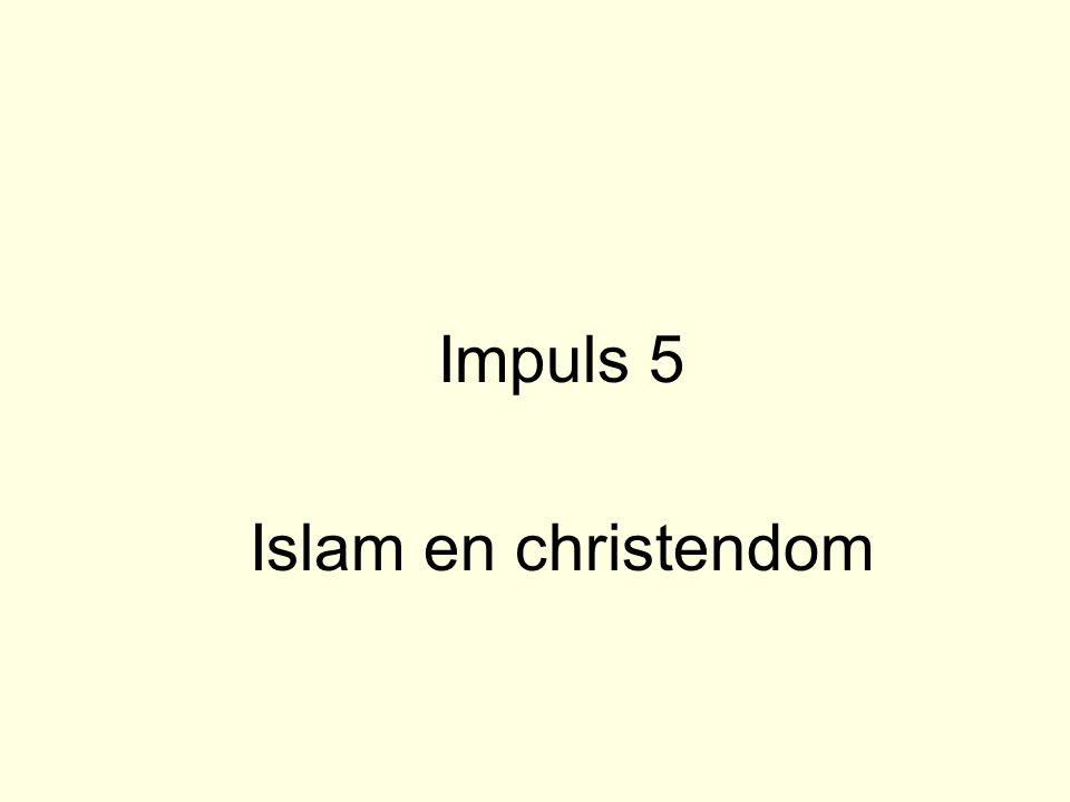 Impuls 5 Islam en christendom