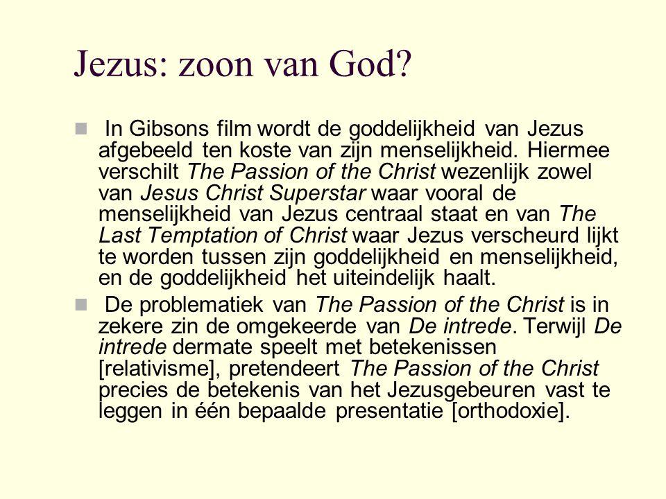 Jezus: zoon van God