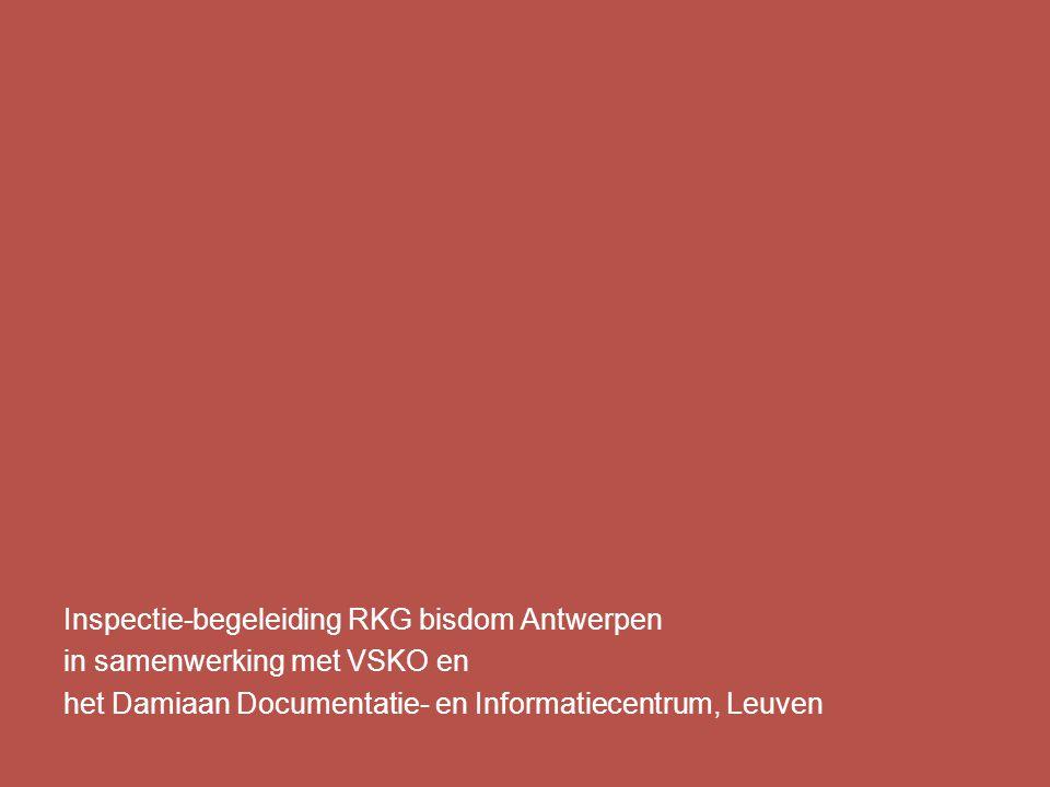Inspectie-begeleiding RKG bisdom Antwerpen