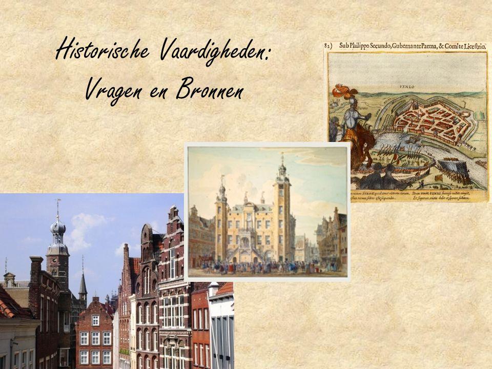 Historische Vaardigheden: Vragen en Bronnen