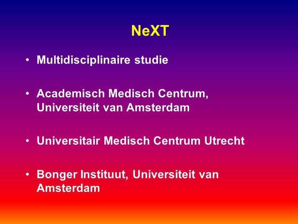 NeXT Multidisciplinaire studie