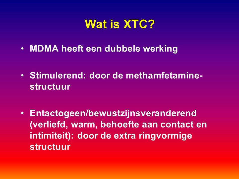 Wat is XTC MDMA heeft een dubbele werking